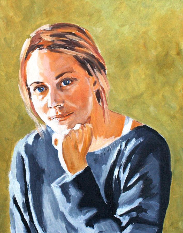 Porträttkonstnär Tomas Dahlström