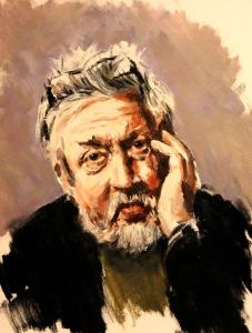 Porträttkonstnär Tomas Dahlström, GW Persson